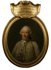 Portrait de Jacques Vaucanson, élu pensionnaire de l'Académie royale des sciences le 9 juin 1768 