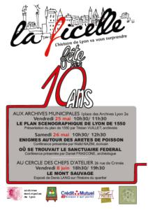 10 ans : conférence LE PLAN SCENOGRAPHIQUE DE LYON DE 1550 @ ARCHIVES MUNICIPALES | Lyon-2E-Arrondissement | Auvergne-Rhône-Alpes | France